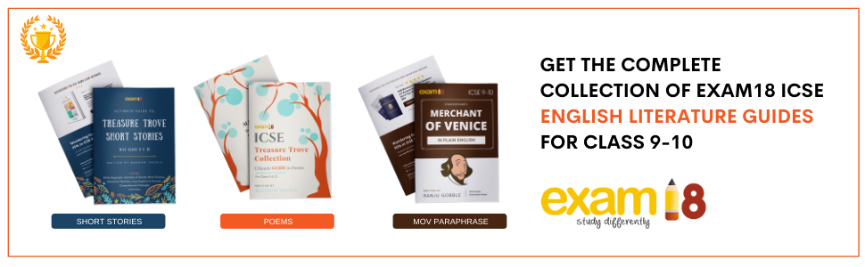 A Content GET THE COMPLETE ICSE ENGLISH LITERATURE COLLECTION