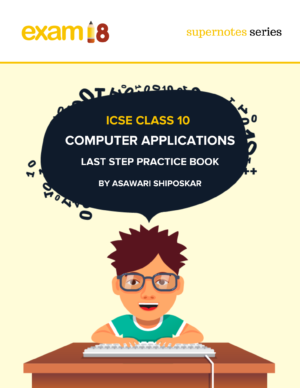 Computer Applications Last Step Practice Book Book Cover 2