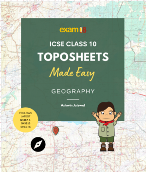 ICSE Class 10 Toposheets Made Easy Book Product Image
