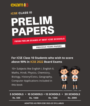 ICSE NEW Prelim Papers 2022 Edition Product Images