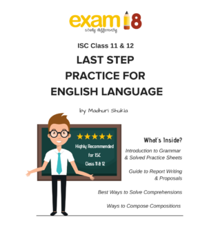 ISC Class 12 Last step practice for english Language Product Image
