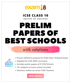 icse prelim papers with answers exam18