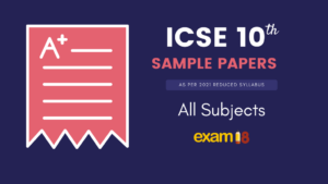 icse sample papers class 10 reduced syllabus further 2021 free pdf